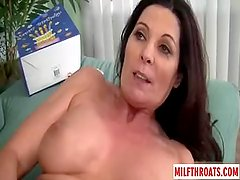 Hot milf hardcore and facial