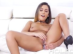 HOLED Cute petite latina Jaye Summers gets her tight ass fucked