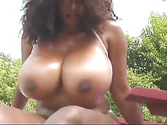 Chaka showing her big boobs