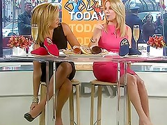 Hoda and Kathie Lee's Feet and Legs