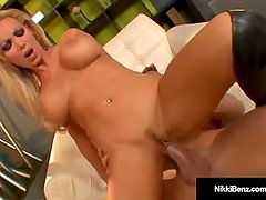 Busty Blonde Nikki Benz Gets Pussy Pounded by Billy Bailey!