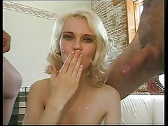 Norwegian blonde slut gets the Ben Dover treatment