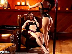 WebYoung Veronica Rodriguez Strips and Scissors!