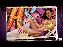 Tiffany Luu nude photoshoot Playboy TV Badass