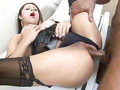 Anal sex whit gorgeous tranny. BdS