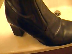 Leather boot play