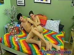 Gay twinks peeing on each other first time
