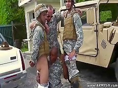 Nude army men  and naked amatuer male