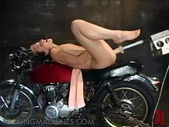 Pleasure Craving Babes Gets The Help Of A Fucking Machine