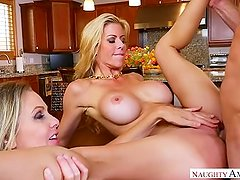 Step mom Alexis Fawx, Julia Ann, Threesome