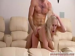 Milf handjob on tits compilation xxx