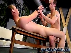 Male bondage hentai gay Aiden gets a lot of