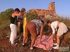Anal Orgy in the Castle with Andrea, Judith