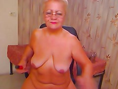 Fat Ass Granny on Cam