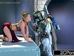 Star Whores Princess Lay XXX Parody - Abby Cross
