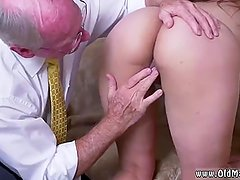 Daddy fingers crony's daughter first time
