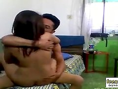 Lovers fucking in hostel room and record - 7 min  Indian Porn - teen99