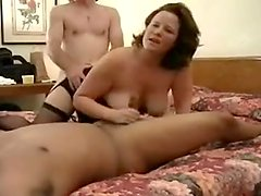 Hubby Shares Wife in a Threesome with BBC