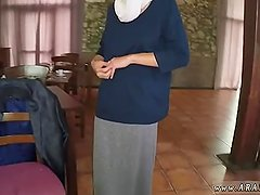 Arab Hungry Woman Gets Food and Fuck
