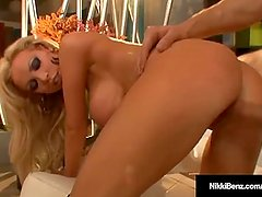 Penthouse Pet Nikki Benz Has Her Vagina Stuffed By A Cock!