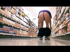 public nudity at the grocery store