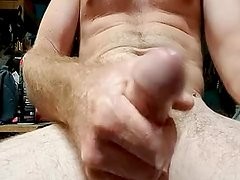 Close up of me playing with my cock