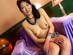Nanako Shimada beautiful mature asian stripping for the camera