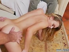 White blonde girl solo Molly Earns Her Keep