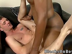 Kody Rean Gets His Ass Filled with Black Cock