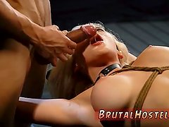 The interview sex scene Big-breasted blonde
