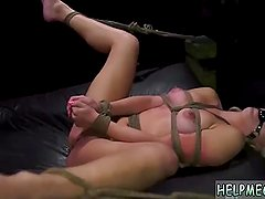 Bdsm stage show hot huge dildo rough If she
