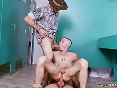 Gay soldier underwear movie take a duo