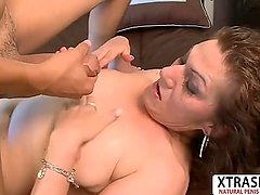 Busty Not Step Mom Dacia Logan Seduces Hard Young Dad's Friend