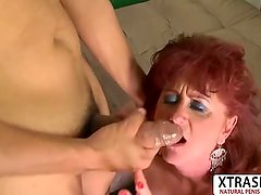 Great Auntie Shirley Lily Wants To Fuck Sweet Teen Step son