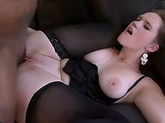 Big Black Cock For Cum Craving Milf Getting Pussy And Tits fucking