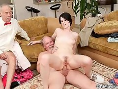 Several handjob hot mature huge tits