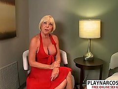 Sexy Mother Scarlet Andrews Fucking Good Her Son