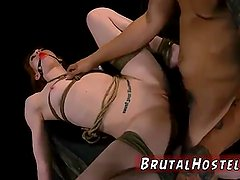 Extreme rough brutal anal pain Sexy