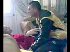 syrian arab young boy and his