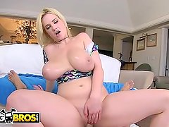 BANGBROS - Curvy Babe Siri Puts Her Big Tits and Round Ass To Good Use