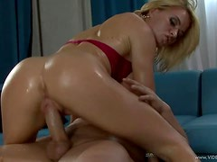 Oiled Up Krissy Lynn  Is The Bomb When it Comes To A Hard Fuck