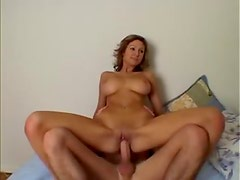 Perfect big natural tits slut fucked