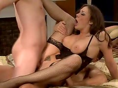 Chanel Preston hot double penetration