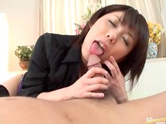 Ass rimming Japanese girl is cute