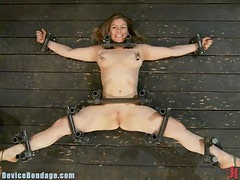 Slutty Teen Loves Being Masturbated While Doing Some BDSM