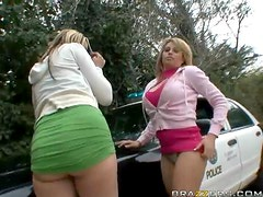 Bubble Butt Blondes Gets Smashed In A Wild Threesome