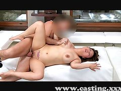Posh Japanese girl lets me ride her curves