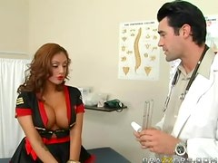 Deep Throat Therapy With The Hot Latina Ice La Fox