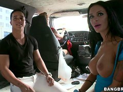 A Little Rides With The Hot Pornstar Angelina Valentine