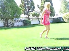 Ashley school cheerleader who loves experiencing on FTV